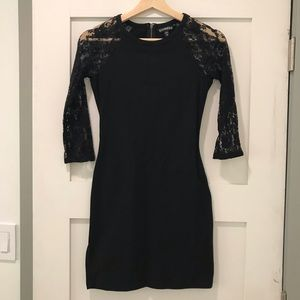 Express Black Mini Dress